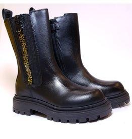 Andrea Morelli boot black zipper