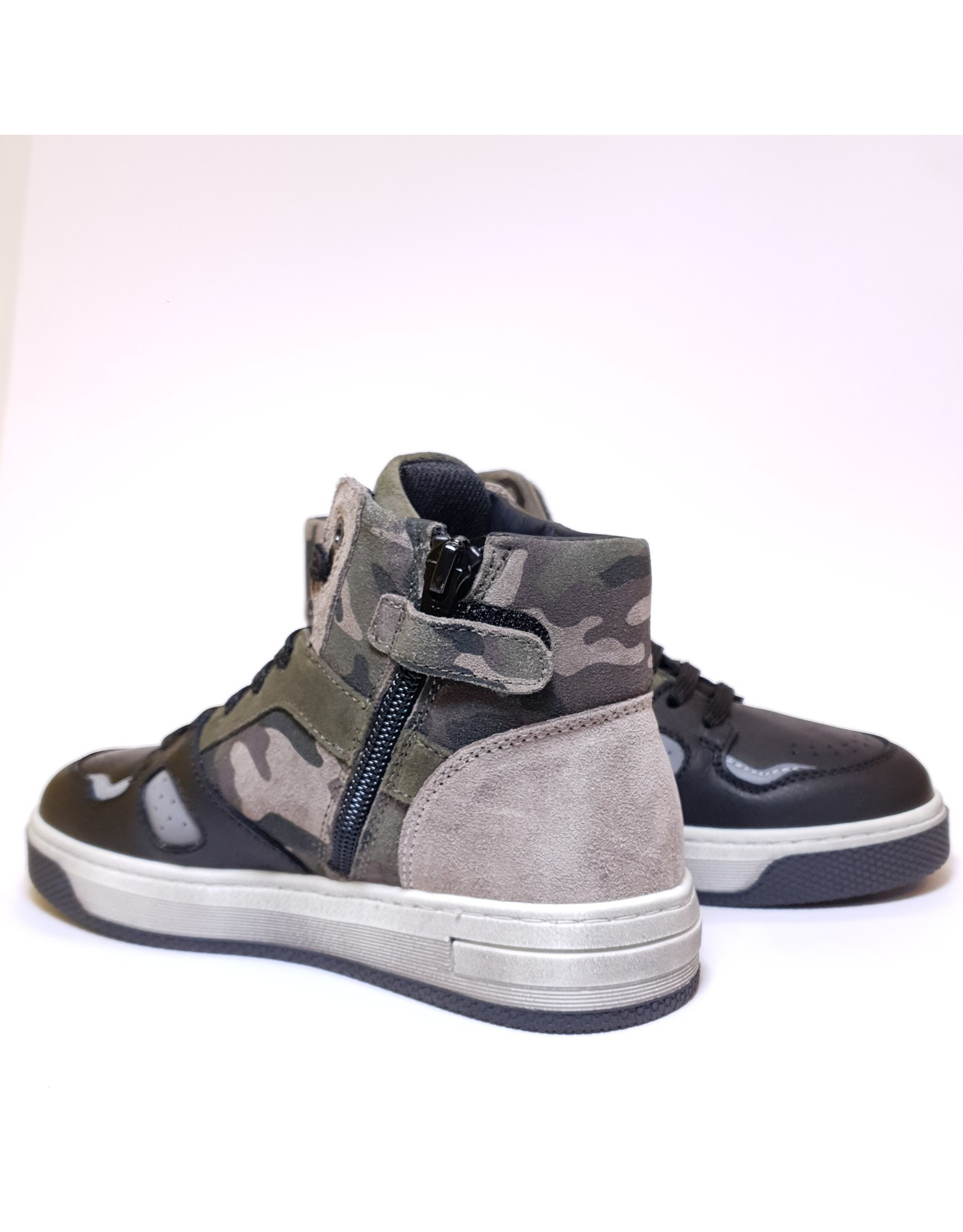 Andrea Morelli sneaker black camouflage