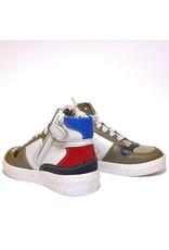 Ocra sneaker kaki white red