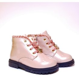 Walkey veterlaars roze lak