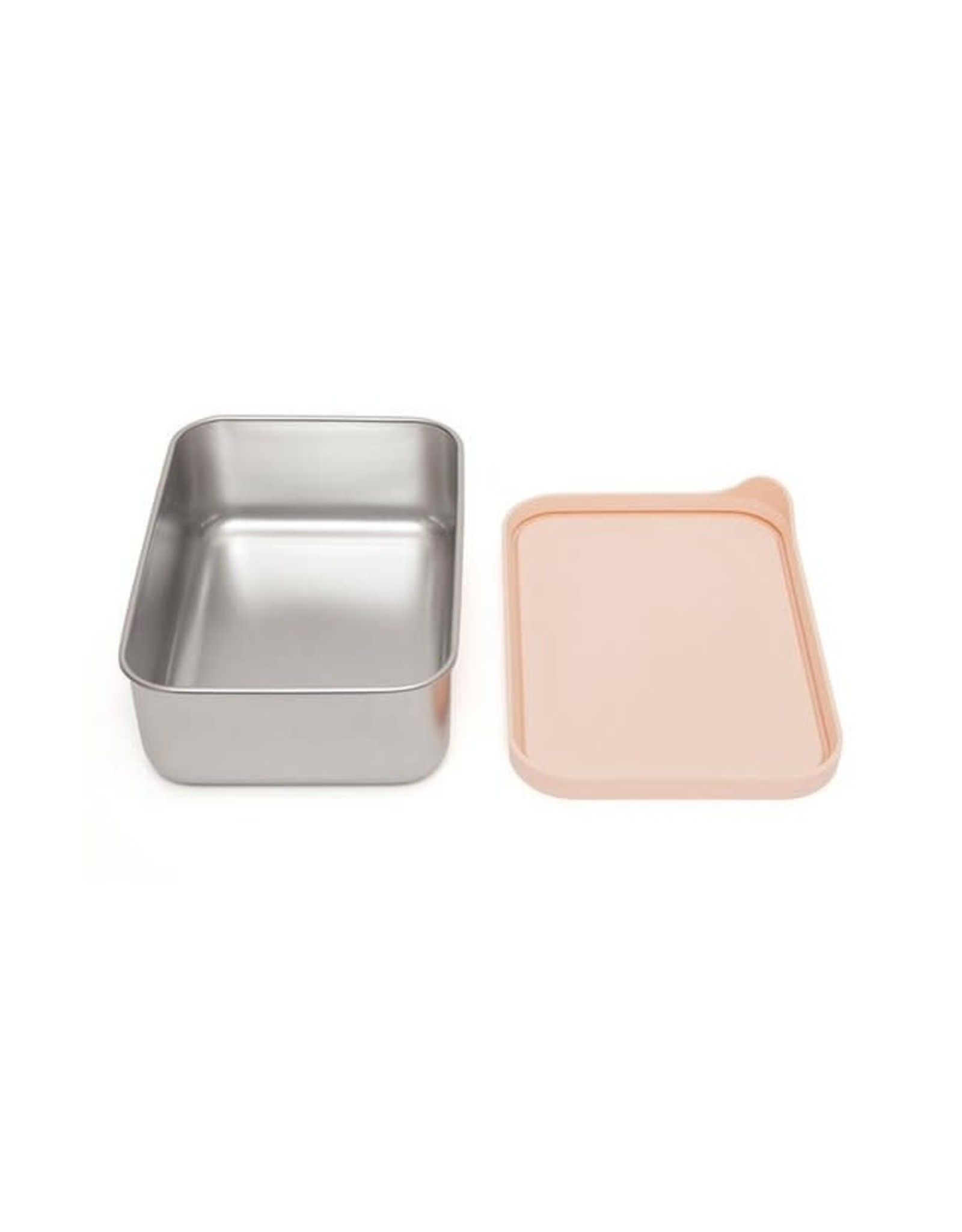 Petit Monkey stainless steel lunchbox dawn rose