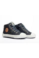 Develab sneaker black suede