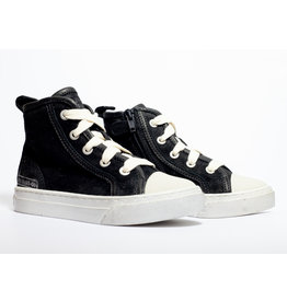 Momino sneaker zwart brushed