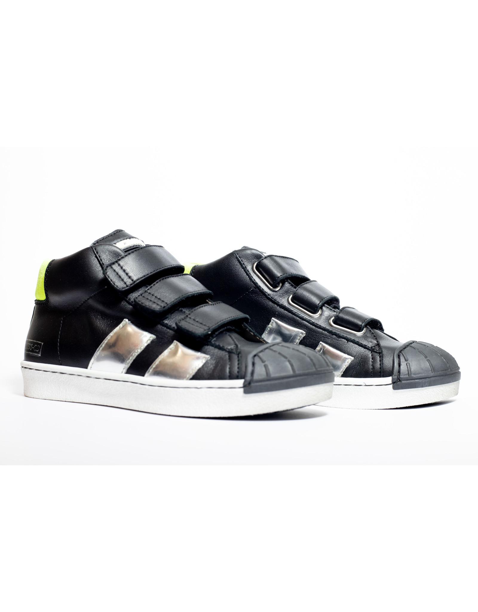 Momino sneaker zwart velcro
