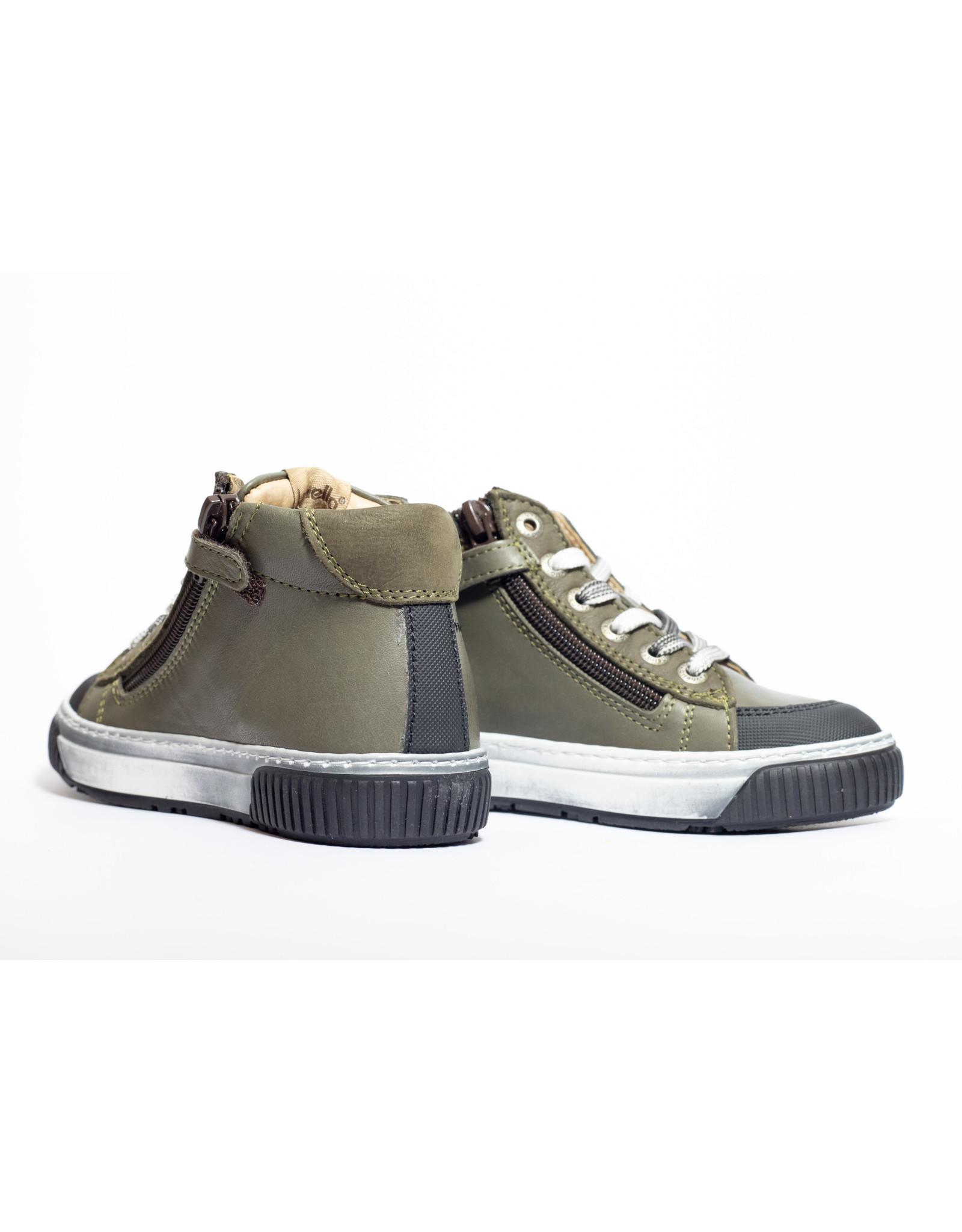 Lunella sneaker kaki zwart