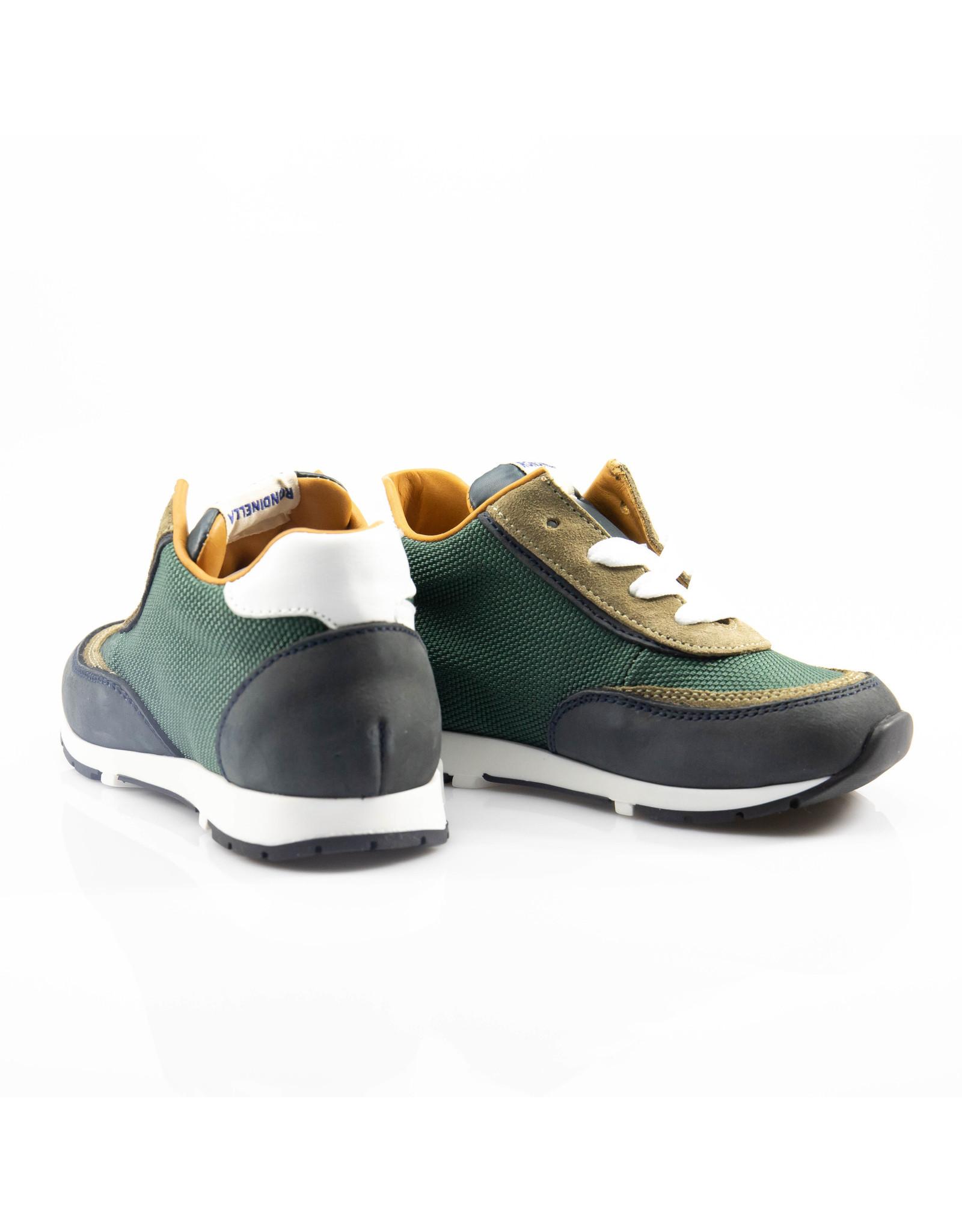 Rondinella runner mini blauw, groen