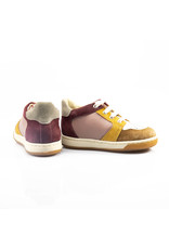 Falcotto sneaker abeia bordeaux/roze
