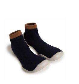 Collégien pantoffels d. blauw cachemire