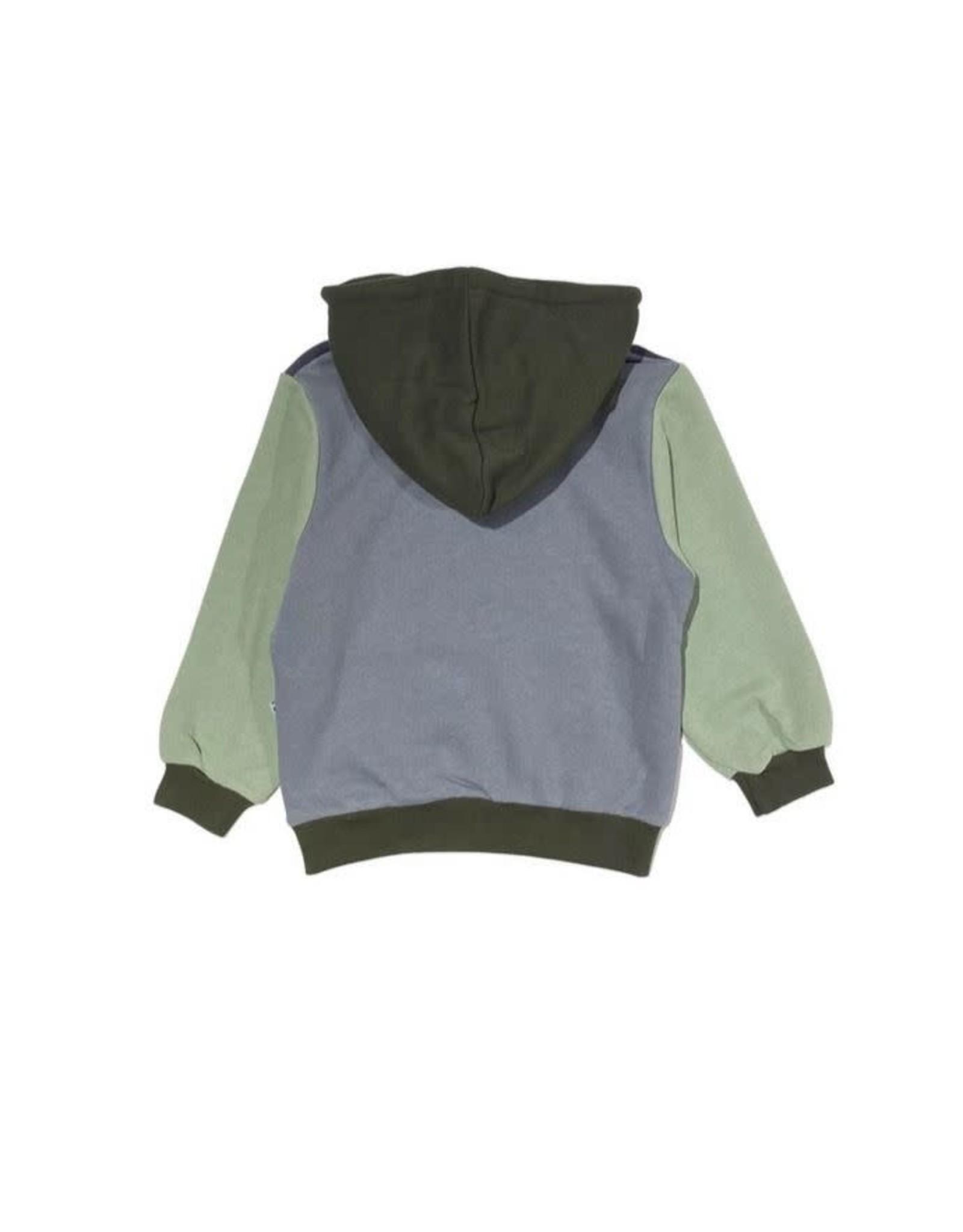 Cos I Said So color block hoodie odyssey