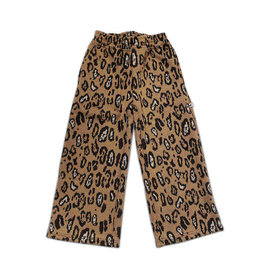 Cos I Said So wide pant leopard knit