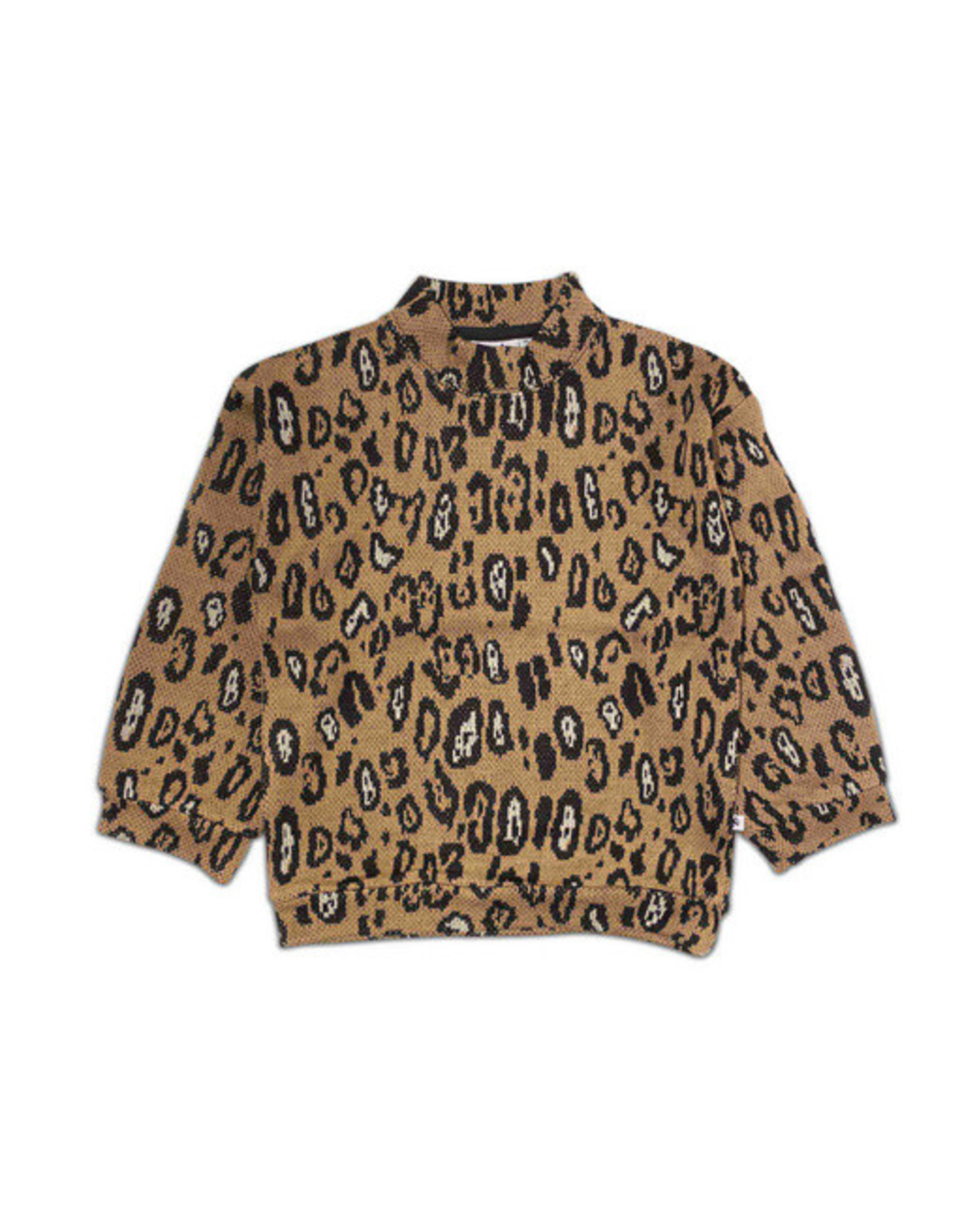 Cos I Said So sweater leopard knit