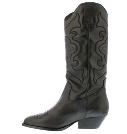 Tango Shoes Cowboy boots - zwart - hoog, kleine hak