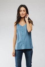 Andy & Lucy Tanktopje, blauw met glansend detail!