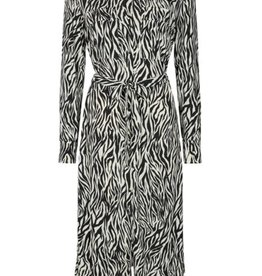 Free/quent Zebra Midi Dress