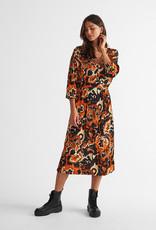 Free/quent Super vrouwelijk kleedje, in tof kleur, lekker fris voor de herfst.