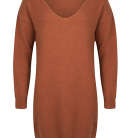 Knitted dress - bruin of zwart!
