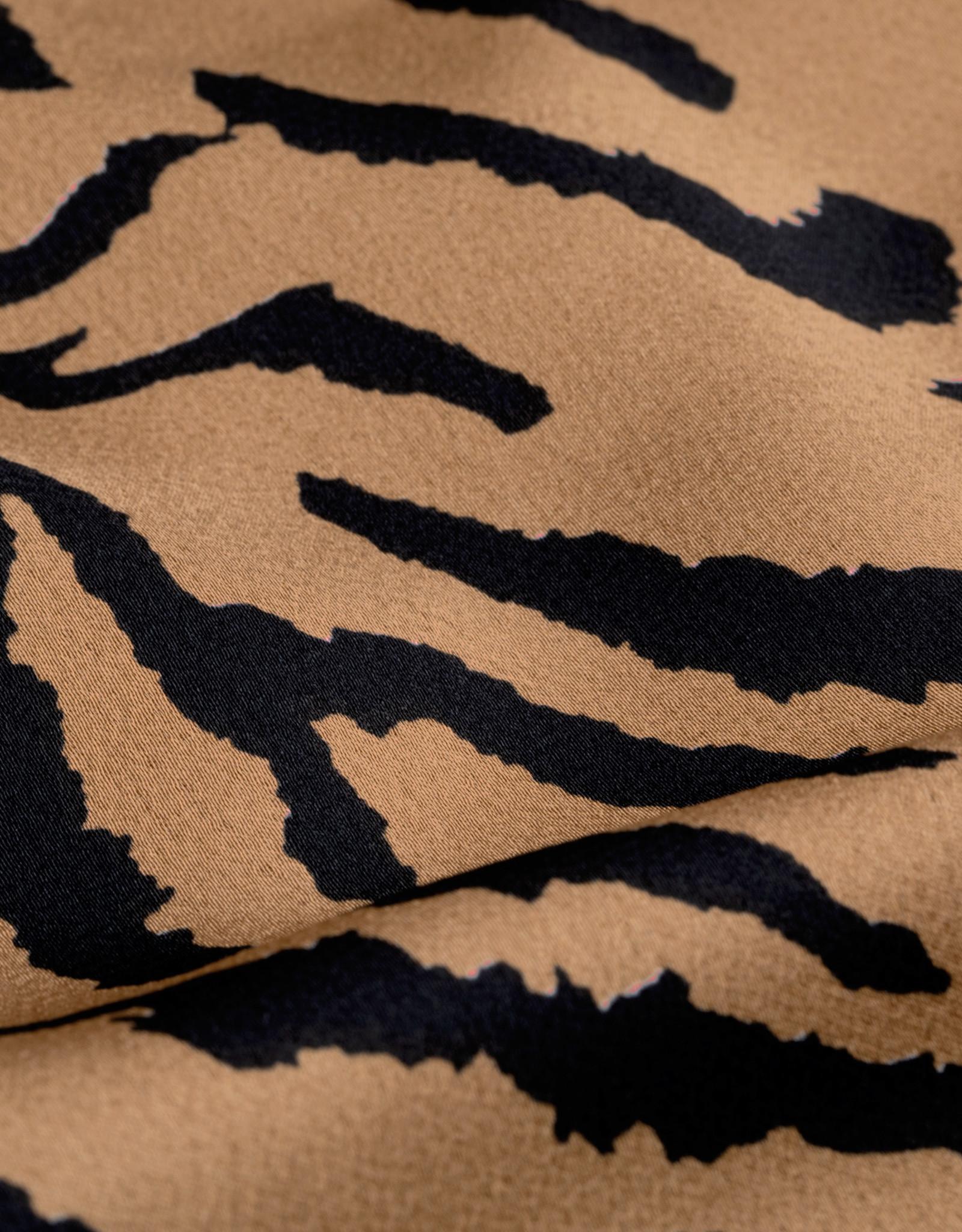 Midi rok - toffe print - in 2 kleuren.