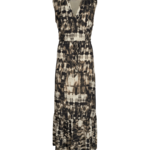 Free/quent Maxi dress - met batic print! En Ecover label