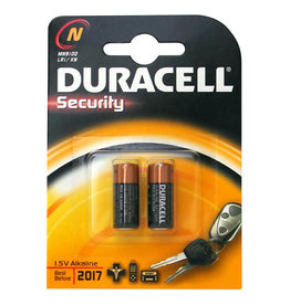 DURACELL DURACELL ALKALINE MN 9100 LR1 1.5V 2STUKS