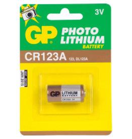 GP FOTO BATTERIJ EL123AP/CR123.