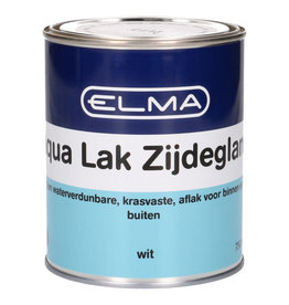 ELMA ELMA AQUA LAK ZIJDEGLANS WIT 750ML