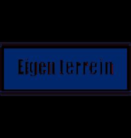BORD EIGEN TERREIN 13X32CM