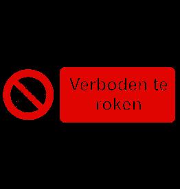 CARPOINT BORD VERBODEN TE ROKEN 12X32CM