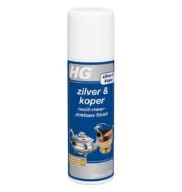 HG HG ZILVER & KOPER NOOIT-MEER-POETSEN-FINISH 200ML