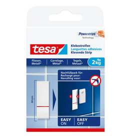 TESA TESA POWERSTRIPS TEGELS & METAAL 77760 2 KG