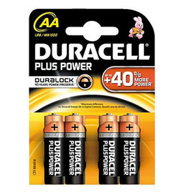 DURACELL DURACELL AA 4 PACK THR