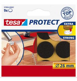 TESA Tesa protect vilt bruin Ø 26 mm