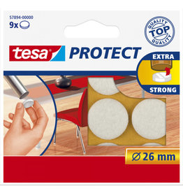 TESA Tesa protect vilt wit Ø 26 mm