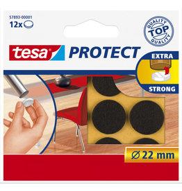 TESA Tesa protect vilt bruin Ø 22 mm