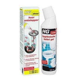 HG HG HAARONTSTOPPER + GRATIS HG TOILETGEL!