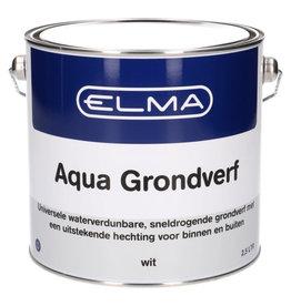 ELMA Elma Aqua grondverf wit 2500 ml