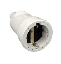 ABL PVC CONTRA STEKKER WIT (RA)