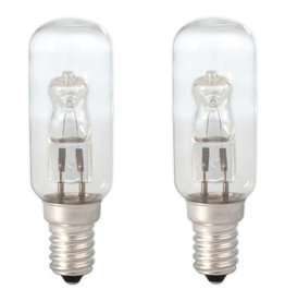 CALEX Calex halogeen buislamp 28W E14 helder 2stuks