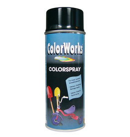 MOTIP MoTip Colorspray hoogglanslak zwart 400 ml