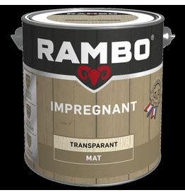 RAMBO RAMBO IMPREGNANT TRANSPARANT KLEURLOOS 0000 2,5 L