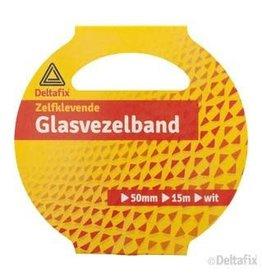 DELTAFIX #GLASVEZELBAND 15MX50MM WIT