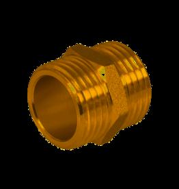 PLUMBOB Messing Nippel 1/2x1/2 mnl