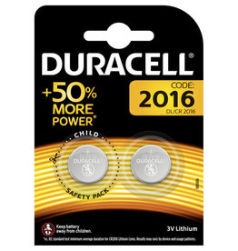 DURACELL DURACELL LITHIUM DL 2016 2 PACK