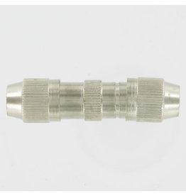 KOPP Kopp coax kabelverbinder metaal 6,5 mm