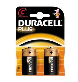 DURACELL Duracell plus power duralock C batterij 2 stuks