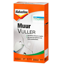 ALABASTINE ALAB MUURVULMIDDEL  500GR