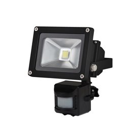 PEREL SENSORLAMP 10W LED 116S94X22MM ZWART