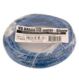 VD-DRAAD 2,5 MM² BLAUW - 10 M