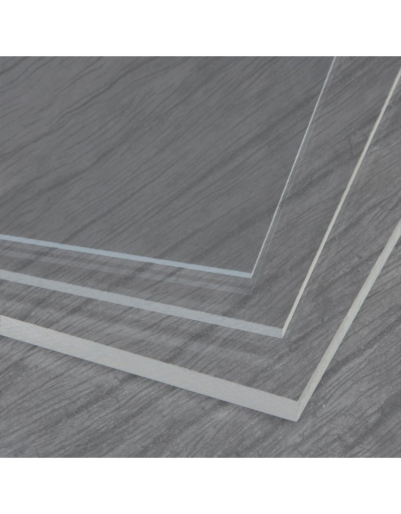 PROSTAR PLEXIGLAS / VLAKKE PLAAT GLASHELDER