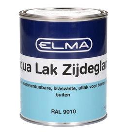 ELMA ELMA AQUA LAK ZIJDEGLANS RAL9010 750ML
