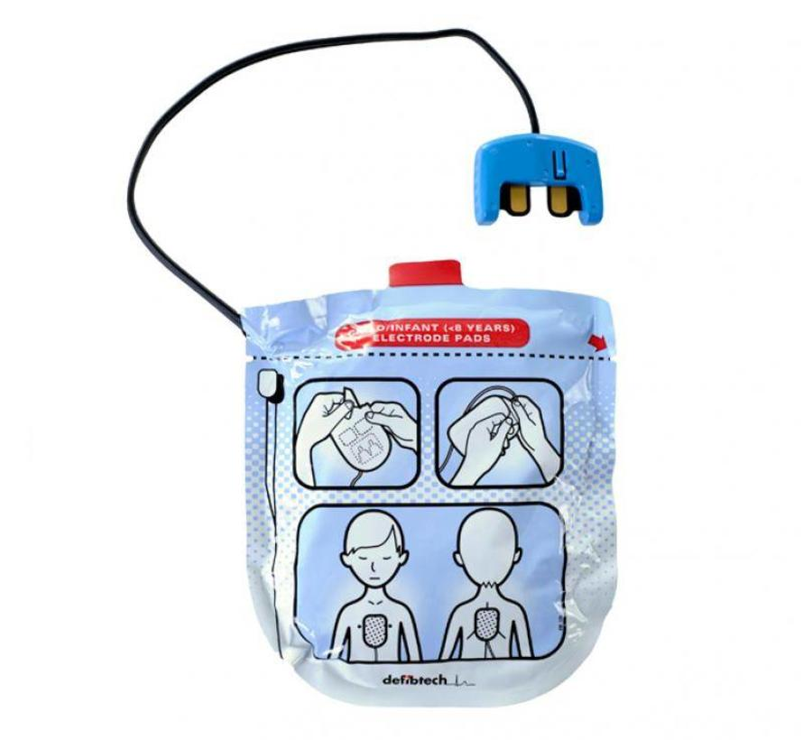 Defibtech Lifeline AED VIEW kinderelektroden